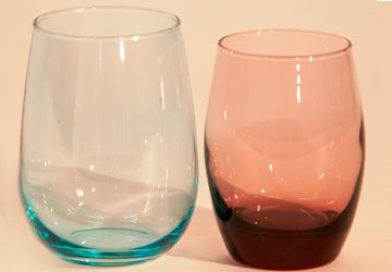 Alquiler Vasos de colores para eventos.