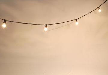 Alquiler Decoración lumínica para eventos.