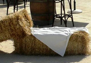Lloguer Bales de palla per a esdeveniments