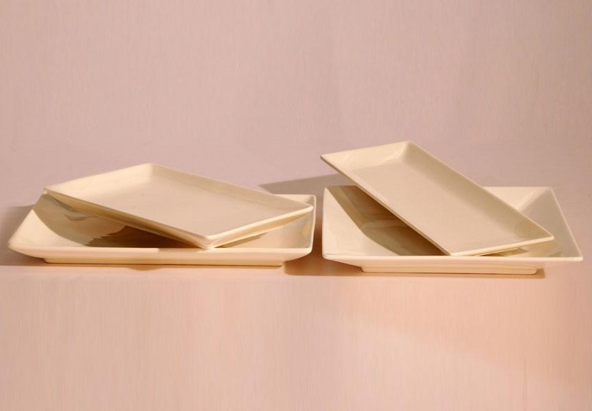 Platos de porcelana cuadrados masba events terra alta for Platos cuadrados de porcelana