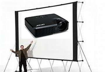 Lloguer Projector y pantalla per a esdeveniments