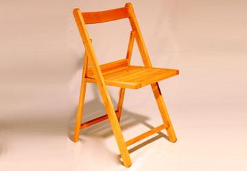 Lloguer Cadira plegable de fusta per a esdeveniments