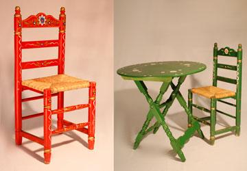 Lloguer Cadira i taula sevillana per a esdeveniments