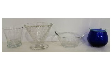 Lloguer Complements de vidre per a esdeveniments